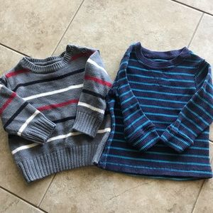 Children's Place Striped Boys Sweater Bundle